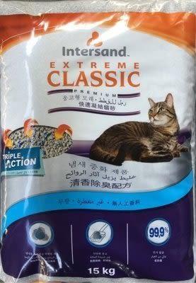 *WANG*【三包組免運賣場】加拿大 Intersand 晶鑽E Classic凝結貓砂 7kg 兩種香味可選