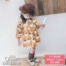 女童洋裝 卡通可愛雲朵娃娃領連身裙 18617153