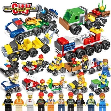 兼容樂高積木男孩子6歲兒童益智力7拼裝組裝8合體機器人9玩具10