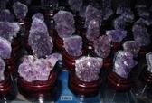 天然紫晶洞水晶簇 巴西紫晶簇 1塊 隨機挑選