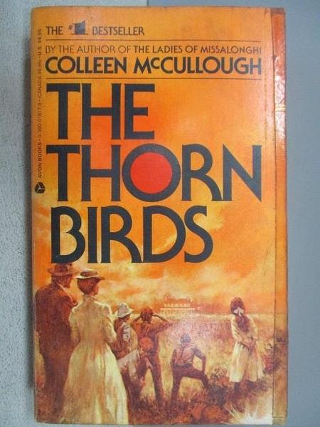 【書寶二手書T9/原文小說_CSK】The Thore Birds_Colleen McCullough