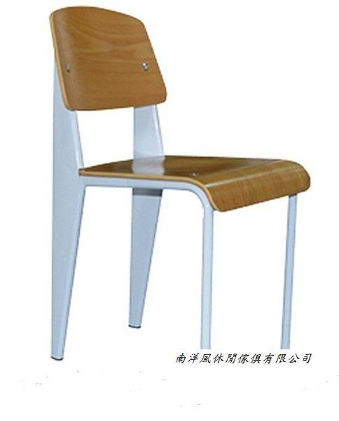 【南洋風休閒傢俱】造型椅系列-美式鄉村復古椅 鐵藝餐廳靠背椅 星巴克創意椅 實木餐椅