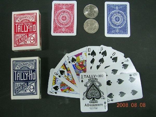 【USPCC撲克館】TALLY-HO mini 迷你撲克牌