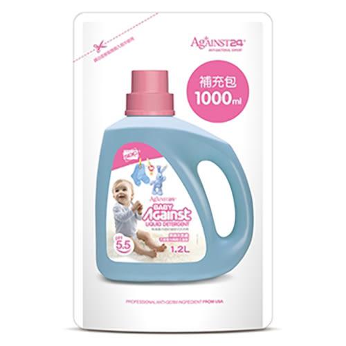 抗菌防蟎嬰兒洗衣精補充包-1000ml