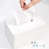 居家紙巾盒歐式簡約客廳車載桌面紙巾抽紙收納盒【奇趣小屋】