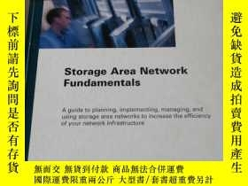 二手書博民逛書店Storage罕見Area Network Fundamenta