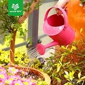 園藝鐵皮灑水壺兒童澆花壺澆水壺鐵質1.5L澆水壺大容量 茱莉亞