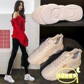 小熊鞋女季新款小白鞋老爹鞋女網紅休閑運動鞋女鞋