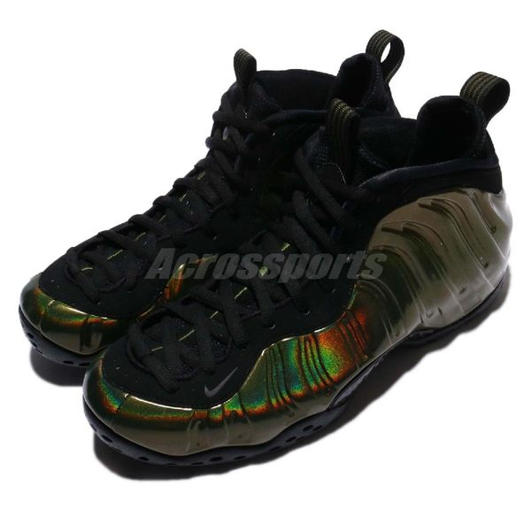 Nike Air Foamposite One Legion Green 綠 軍綠 黑 七彩 一分錢 哈德威 太空鞋 男鞋【PUMP306】 314996-301