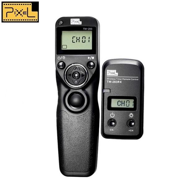 又敗家@品色PIXEL副廠無線電定時Panasonic副廠快門線TW-283/L1適GH4 GH3 GH2 GX8 GX7 GX1 G7 G6間隔GH1相容DMW-RSL1