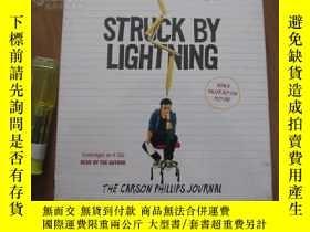 二手書博民逛書店Struck罕見By Lightning: The Carson