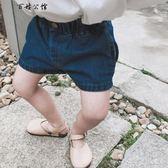 女寶寶牛仔短褲韓版兒童百搭  百姓公館