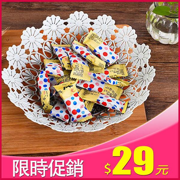 【晶輝居家】AA051*時尚鏤空水果糖果塑膠料水果藍歐式糖果盒子點心盤 白色
