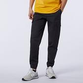 New Balance 男裝 長褲 工作褲 針織 縮口 鬆緊帶 口袋 黑【運動世界】AMP13501BK