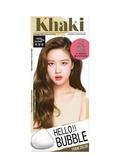 HELLO BUBBLE泡沫染髮劑7K(灰卡其棕)