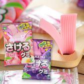 日本 味覺糖 撕吧 水蜜桃/葡萄 32.9g【庫奇小舖】