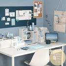 墻壁紙莫蘭迪素色北歐學生寢室桌面自粘貼留白【白嶼家居】