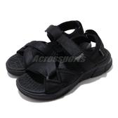 Skechers 涼鞋 Equalizer 4.0 Sandal 全黑 綁帶 男鞋 涼拖鞋 【PUMP306】 237050BBK