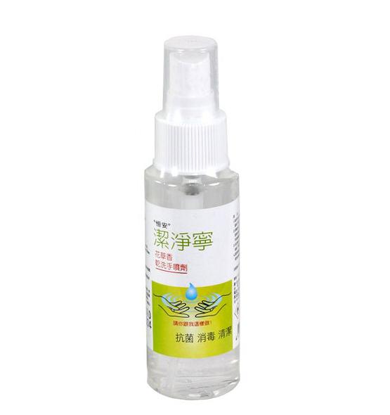 潔淨寧乾洗手液 80ml/瓶 【美十樂藥妝保健】