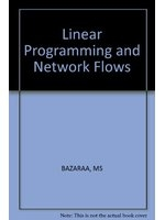 二手書博民逛書店 《Linear Programming and Network Flows》 R2Y ISBN:0471060151