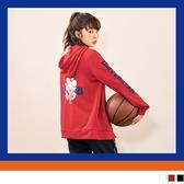 《KG1020》宇宙明星BT21體育課連帽外套 OrangeBear