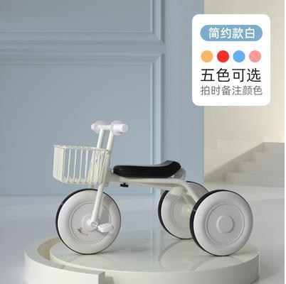金麟娃兒童三輪車腳踏車輕便寶寶手推車1-3-6歲護欄童車日本無印 初色家居馆