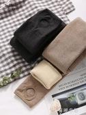 (免運)褲襪六隻兔子3000D連褲襪女冬季微壓顯瘦深秋黑色羊羔絨加厚保暖褲襪