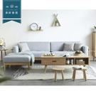 【新竹清祥傢俱】NLS-51LS02 -北歐山毛櫸全實木L型沙發 沙發 簡約 客廳 民宿