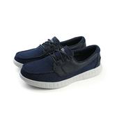 SKECHERS ON-THE-GO Glide 懶人鞋 布鞋 船型鞋 帆布 好穿 舒適 深藍色 男鞋 53770NVGY no698