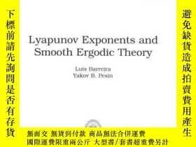 二手書博民逛書店Lyapunov罕見Exponents And Smooth Ergodic TheoryY256260 Ba