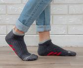 (男襪) 抗菌襪 除臭襪 吸濕排汗除臭襪 抗菌機能氣墊短襪 - 灰色【W093-03】Nacaco