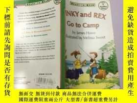 二手書博民逛書店pink罕見and red go to campY383796