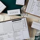 印章手帳時間規劃基礎印章套裝手賬打卡記錄...