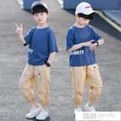 兒童裝男童夏裝套裝2021新款潮洋帥氣中大童10夏季夏款12韓版15歲 韓慕精品