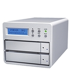 STARDOM SR2-WBS3 3.5吋 USB3.0/eSATA/FW800 2bay 磁碟陣列設備
