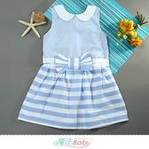 女童裝 春夏清涼舒適無袖連身裙 洋裝 魔法Baby