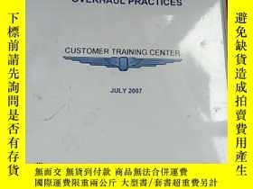 二手書博民逛書店INTRODUCTION罕見TO ENGINE OVERHAUL PRACTICES CUSTOMER TRAIN
