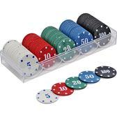 籌碼卡片棋牌室專用麻將機館塑料幣 學習獎勵游戲積分幣100碼套裝 小宅女