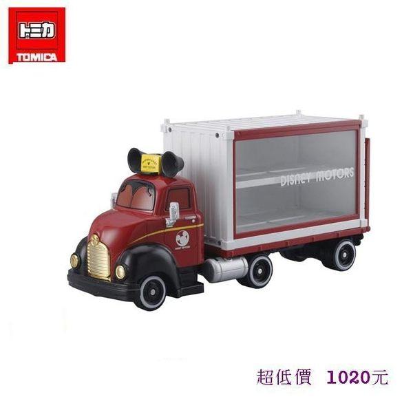 *美馨兒* 【日本TOMICA迪士尼】迪士尼夢幻展示貨車 1020元