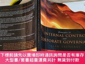 二手書博民逛書店【外文原版】principles罕見internal control corporate governance (