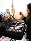 魅時尚化妝包專業便攜大容量ins超火化妝品收納箱跟妝師隨身手提 ATF polygirl