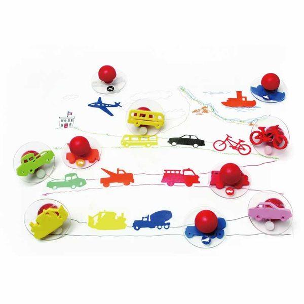 交通工具大印章 兒童幼兒教具教學道具彩繪著色畫圖用具親子同樂綜合活動藝術與人文