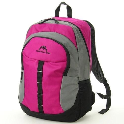 Mountain Range 粉色 尼龍後背包 18公升大容量 日本帶回正版商品