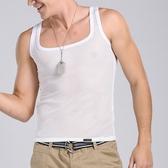 超值短褲背心_夏日吸睛性感網眼方領顯身材貼身棉質背心【KXO005】