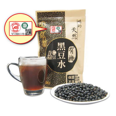 台灣常溫 有機天然青仁黑豆水 15g/包、10包/袋