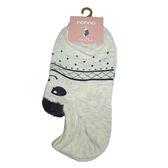 non-no儂儂褲襪《16入》前耳朵動物造型襪-點點熊-27259-8