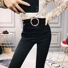 歐洲站韓范2018顯瘦女裝時尚潮流修身包臀外穿加厚加絨鉛筆長褲子