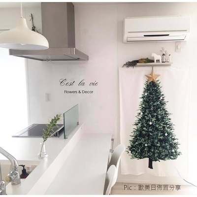 聖誕禮品89  聖誕樹裝飾品 禮品派對 裝飾 聖誕樹掛布