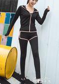 健身服女健身房韓國寬鬆瑜伽服專業速乾網紗短褲跑步運動套裝女夏   麥琪精品屋