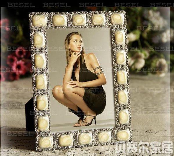 6寸鋅合金像框 結婚相框
